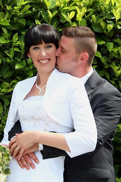 Hochzeitsfoto eines Paares bei Foto and More